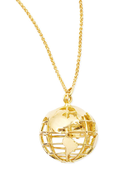 18k Gold My Earth Necklace