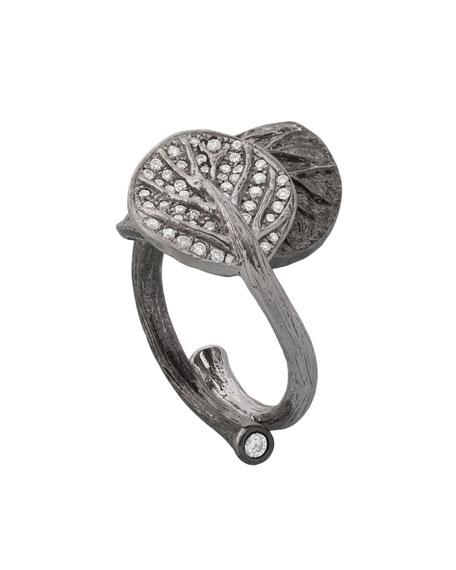 Botanical Double-Leaf Ring