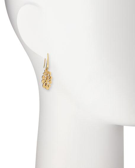 Sealeaf Small 18k Gold Drop Earrings