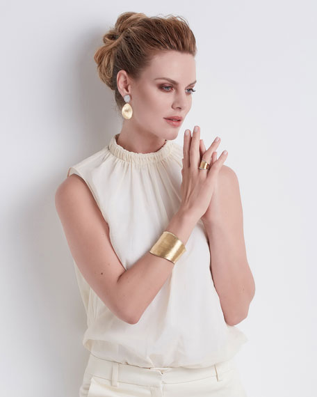 Lunaria 18k Gold Chandelier Earrings