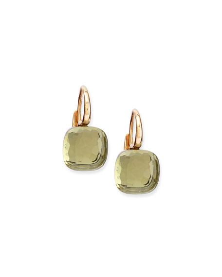 Pomellato Nudo Prasiolite Medium Drop Earrings
