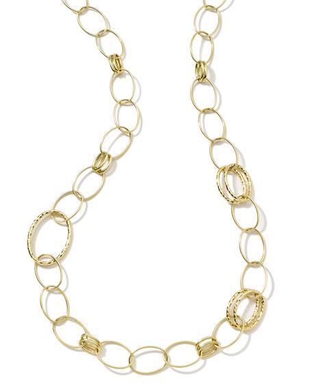 Glamazon 18k Gold Bastille Long Necklace