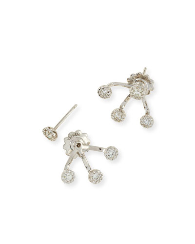 Sunwarrior Diamond Jacket Earrings