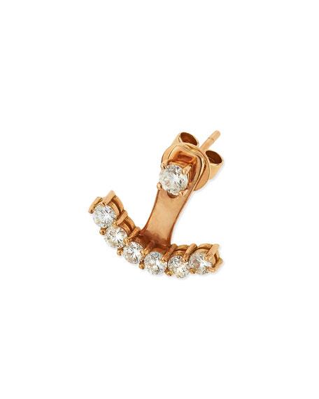 Anita Ko18k Rose Gold Diamond Ear Jacket