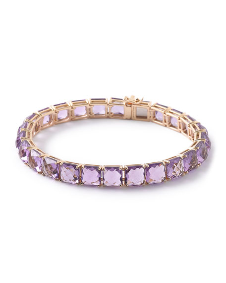 Ippolita 18k Rock Candy Tennis Bracelet in Amethyst