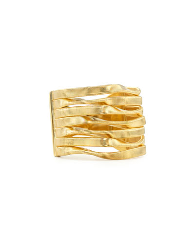Marrakech 18k Multi-Strand Ring