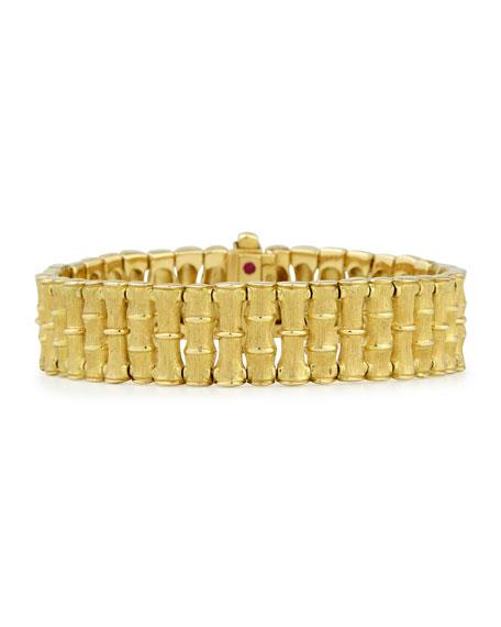 Robert Coin Roberto Coin 18k Gold Bamboo Bracelet