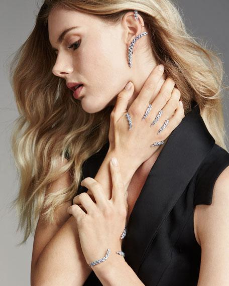 18k White Gold Diamond Hand Piece