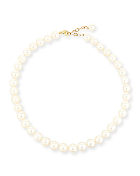 "11mm Freshwater Pearl Necklace, 17""L"