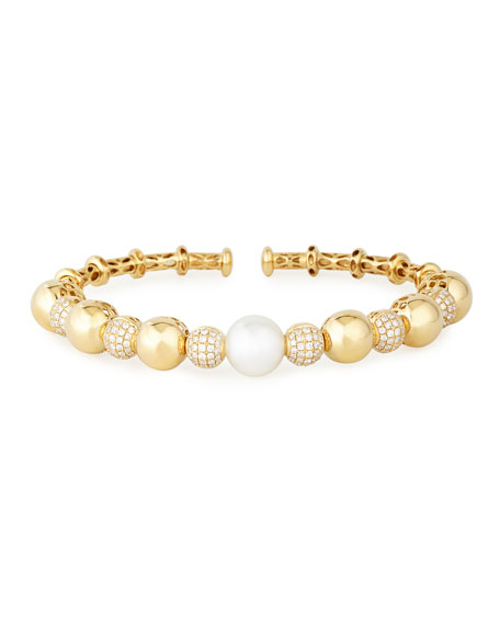 Yoko London 18k Yellow Gold South Sea Pearl