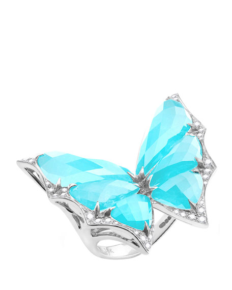 Stephen WebsterFly By Night Small Crystal Haze Ring,