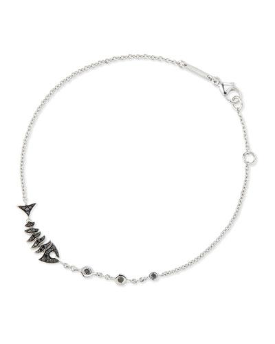Jewels Verne Topkat Black Diamond Bracelet