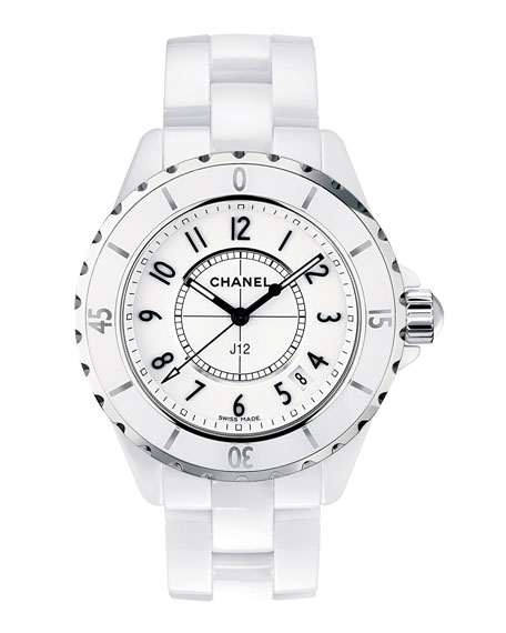 J12 33mm White Ceramic Watch