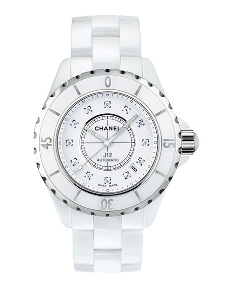furman quartz alan chanel watches white model page style shop ceramic co
