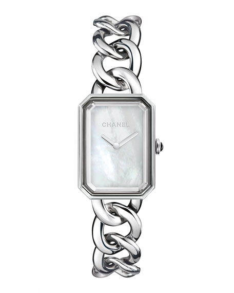 PREMIÈRE Steel Chain Watch, Large Size