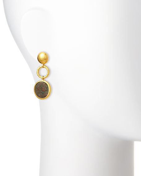 Antiquities Spell Byzantine Drop Earrings