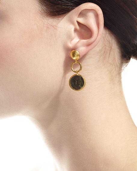 Antiquities Spell Byzantine Drop Earrings