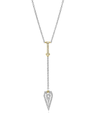 Montmartre Diamond Drop Pendant Necklace