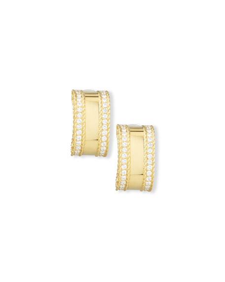 Roberto Coin Princess 18K Yellow Gold Diamond Bar