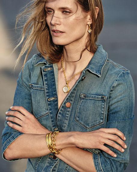 Elizabeth Locke Volterra 19K Gold Link Bracelet