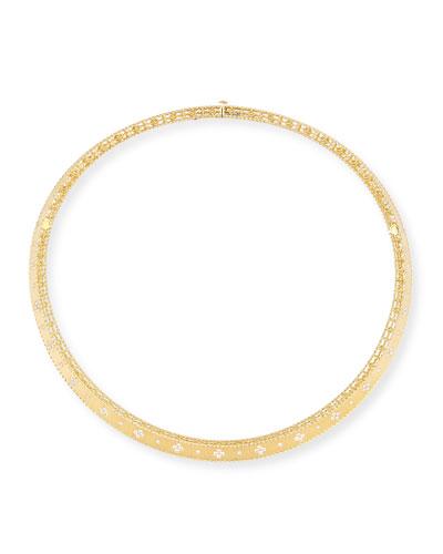 Princess 18K Diamond Collar Necklace