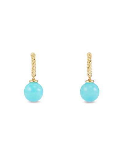 Solari 18K Gold & Turquoise Earrings