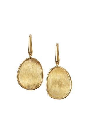 Marco Bicego Lunaria 18k Gold Drop Earrings