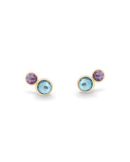 Jaipur Two-Stone Stud Earrings