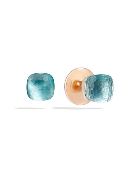Nudo Blue Topaz Stud Earrings