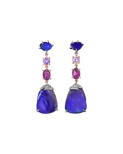 ZoZo Boulder Opal Drop Earrings
