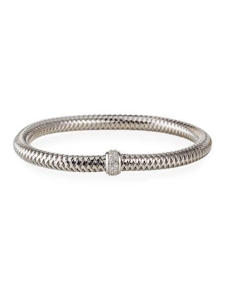 Roberto Coin Diamond Primavera Bracelet, White Gold