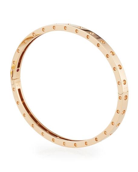Roberto Coin Symphony Collection 18K Pois Mois Bangle Bracelet