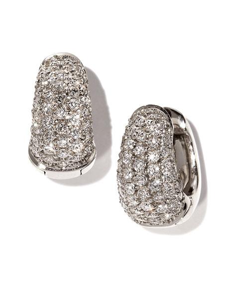 Roberto Coin Snap Hoop Earrings