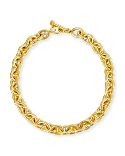 Heavy Oval Link Necklace