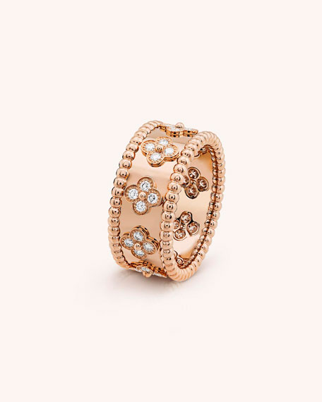 Van Cleef & Arpels Perl??e Clovers Ring