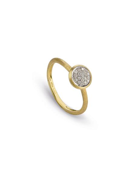 Marco Bicego Jaipur 18K Diamond Bezel Ring, Size 6