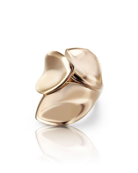 Pasquale Bruni Giardini Segreti 18k Rose Gold Wrapped Ring, Size 6.25