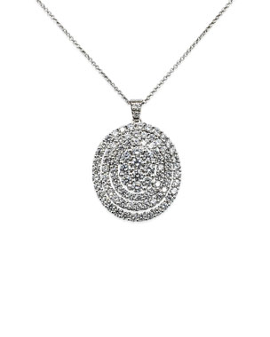 4640319ca19b Leo Pizzo Iconic Must Have 18k White Gold Diamond Pendant