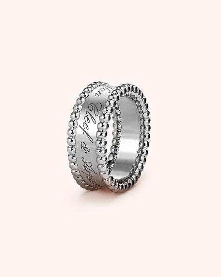 Van Cleef & Arpels Perlée Signature Ring in
