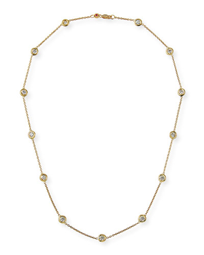 18k Diamond 13-Station Necklace