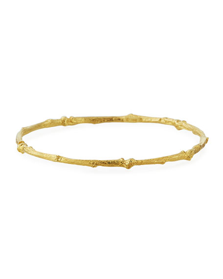 fine bracelet gold bangle products deleuse jewelry bangles knot couture