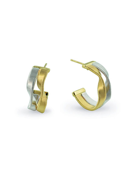 Marco Bicego Marrakech Supreme Two-Strand Hoop Earrings