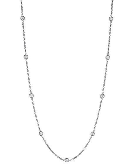 "Penny Preville Diamond Eyeglass Chain Necklace, 18""L"
