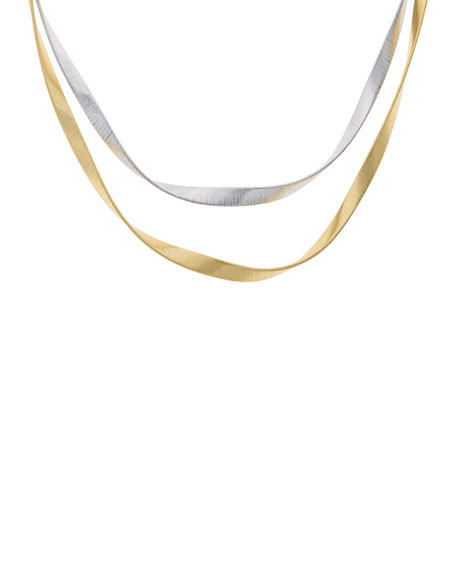 Marco Bicego Marrakech Supreme Twisted 18K Gold Necklace