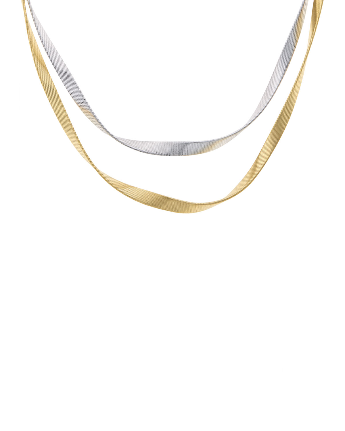 78cda1ebae61d4 Marco Bicego Marrakech Supreme Twisted 18K Gold Necklace | Neiman Marcus