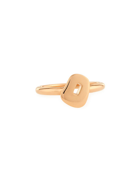 Trapezoid Puzzle Ring in 18K Rose Gold