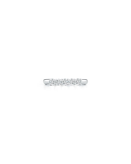 NM Diamond Collection Five-Diamond Band Ring in Platinum, 0.55 tdcw, Size 6.75