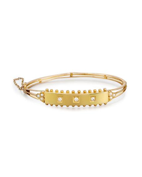 Edwardian Bracelet with Diamonds