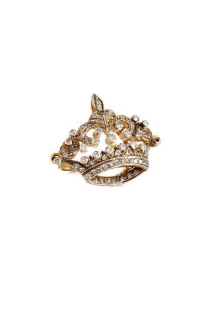 Turner & Tatler Diamond Coronet Ring in 14K Gold