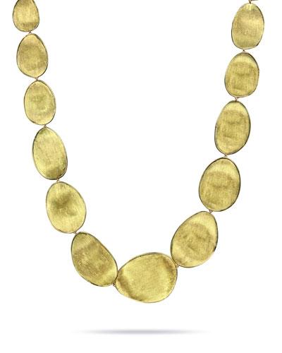 Lunaria 18k Gold Necklace  18L